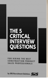 The Five Critical interview questions 3D Cover